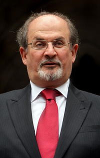 Salman Rushdie at the High Court in London.