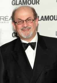 Salman Rushdie at the 2008 Glamour Women of the Year Awards.