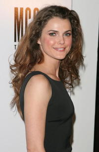 Keri Russell at the after party for the play opening of