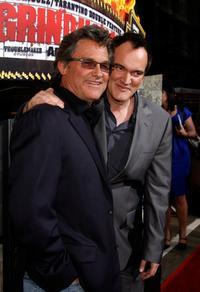 Kurt Russell and Quentin Tarantino at the premiere of