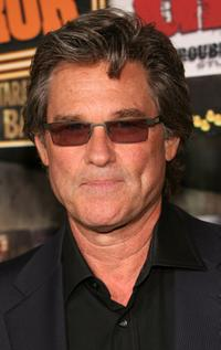 Kurt Russell at the premiere of