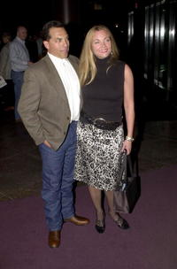 Theresa Russell and Ed Leos at the premiere of