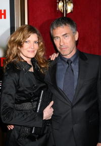 Rene Russo and Tony Gilroy at the