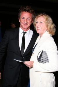 Sean Penn and mother Eileen Ryan at the Los Angeles premiere of