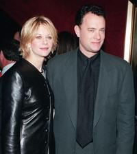 Meg Ryan and Tom Hanks at the premiere of