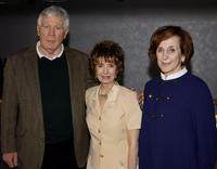 Mitchell Ryan, Margaret O'Brien, Marcia Smith at the Screen Actors Guild's