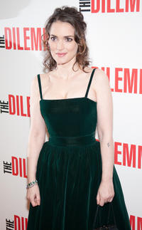 Winona Ryder at the Illinois premiere of