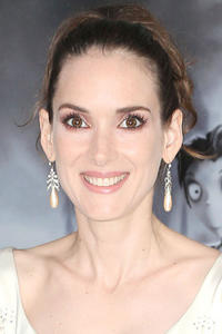 Winona Ryder at the Hollywood premiere