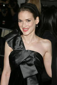 Winona Ryder at the Metropolitan Museum of Art Costume Institute Benefit Gala