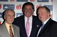 Andrew Sachs, Terry Wogan and John Sergeant at the Oldie of the Year Awards.