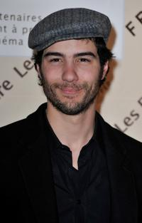 Tahar Rahim at the Romy Schneider and Patrick Dewaere Awards.