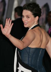 Juliette Binoche at the world premiere of Touchstone Pictures