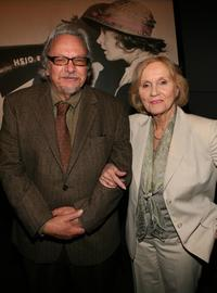 Eva Marie Saint and Robert Rosen at the kick-off reception for Women In Film Foundation's