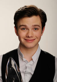Chris Colfer at the 2011 People's Choice Awards in California.