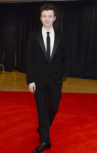 Chris Colfer at the 2011 White House Correspondents' Association Dinner in Washington.