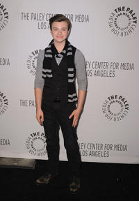 Chris Colfer at the Paley Center for Media's Paleyfest 2011 Event in California.