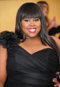 Amber Riley at the 17th Annual Screen Actors Guild Awards in California.