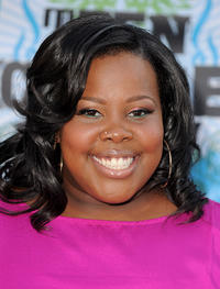 Amber Riley at the 2010 Teen Choice Awards in California.
