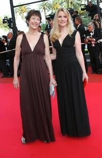 Jane Birkin and Natacha Regnier at the 60th International Cannes Film Festival screening of