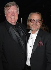 Robert Michael Morris and William Sanderson at the HBO Emmy after party.