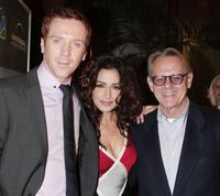 Damian Lewis, Sarah Shahi and William Sanderson at the premiere screening of