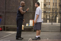 Ving Rhames and Adam Sandler in
