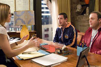 Jessica Biel, Adam Sandler and Kevin James in