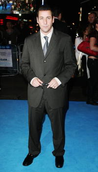 Adam Sandler at the London premiere of