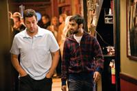 Adam Sandler as George and Aziz Ansari as Randy in