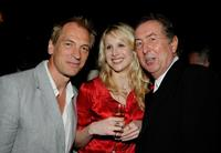 Julian Sands, Lucy Punch and Eric Idle at the Champagne Launch of BritWeek 2009.