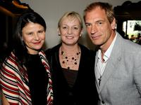 Tracey Ullman, Claire Chapman and Julian Sands at the UK Film Council US Post Oscars Brunch.