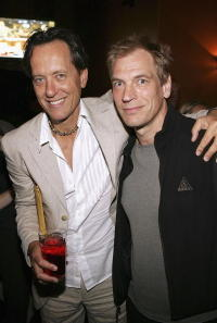 Julian Sands and Richard E. Grant at the AFI special screening of