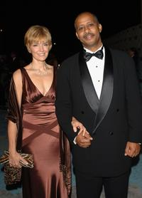 Ruben Santiago-Hudson and wife Jeannie at the HBO Emmy after party.