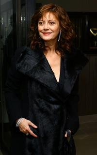 Susan Sarandon at the Leview store opening at 700 Madison Ave in New York City.