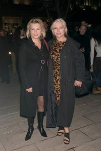 Jennifer Saunders and Debbie Harry at the premiere party of