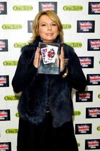 Jennifer Saunders at the British Comedy Awards 2004.
