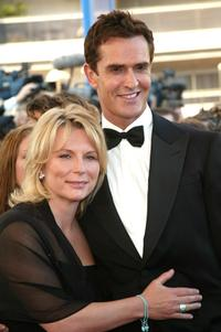 Jennifer Saunders and Rupert Everett at the screening of