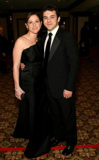 Fred Savage and Jennifer Lynn Stone at the 59th annual Directors Guild of America Awards.