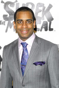 Daniel Breaker at the Broadway opening night of