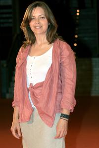 Greta Scacchi at the photocall at the Auditorium della Conciliazione during the Roma FictionFest.