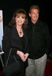 Jackie Collins and Jack Scalia at the launch party for Craig Ferguson's novel