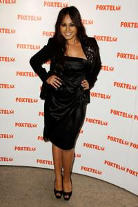 Jessica Mauboy at the Foxtel Dinner in Australia.