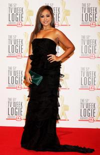 Jessica Mauboy at the 51st TV Week Logie Awards.