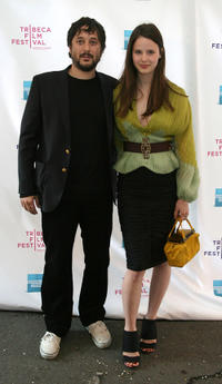 Director Harmony Korine and Rachel Korine at the premiere of