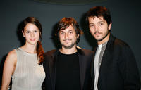 Rachel Korine, director Harmony Korine and Diego Luna at the North American premiere of