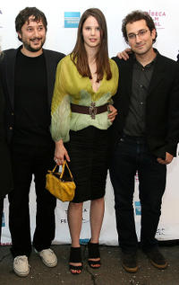 Director Harmony Korine, Rachel Korine and writer Avi Korine at the premiere of