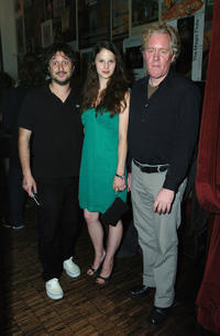 Director Harmony Korine, Rachel Korine and producer Scott Macaulay at the IFC Films' dinner during the 2009 Toronto International Film Festival.