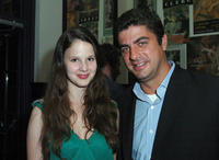 Rachel Korine and IFC Film's Mark Boxer at the IFC Films' dinner during the 2009 Toronto International Film Festival.