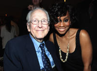William Schallert and Anika Noni at the premiere party of