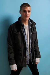 Chris Zylka at the Sundance Film Festival in Utah.